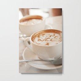 Cafe Con Leche - Puerto Rican Cofee Art Metal Print