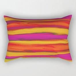 Tropical Beach Sunset Paradise Rectangular Pillow