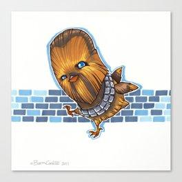 Chicken Chewbacca Canvas Print