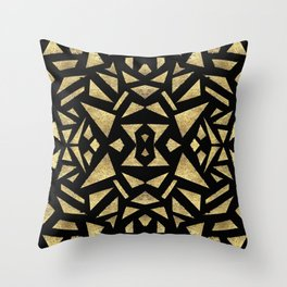 Ari's Gold Throw Pillow