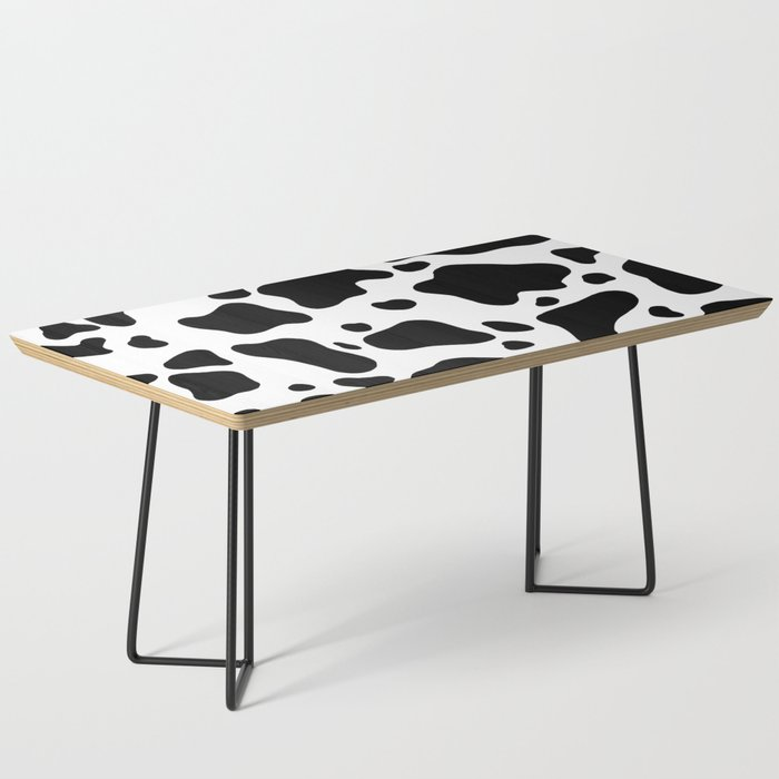 Cow Hide Coffee Table