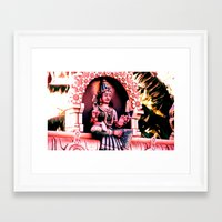 hindu Framed Art Prints featuring Hindu 1 by very giorgious