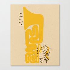 Tuba Bug Canvas Print