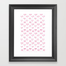 Bows Framed Art Print