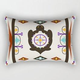 She Weaves Her Life Rectangular Pillow