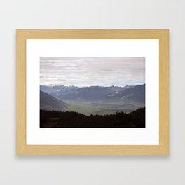 quite Framed Art Print