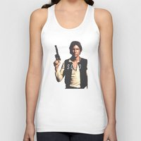 han solo Tank Tops featuring Han / Solo by Earl of Grey