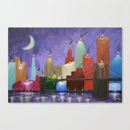 Candleopolis Canvas Print