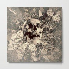 The Final Curtain (Sepia) Metal Print