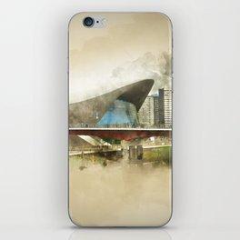Zaha Hadid's 'The Wave' Olympic London iPhone Skin