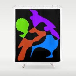Four Natives Shower Curtain