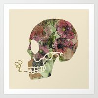 death Art Prints featuring Death by Farnell