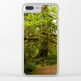 The Opulence Of The Rainforest Clear iPhone Case