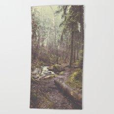 The paths we wander Beach Towel