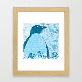 Penguin: Love Framed Art Print