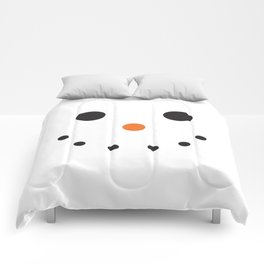 Snowman Holiday Comforters
