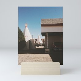 The Wigwam Motel Mini Art Print