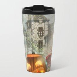 Hallowen old castel Travel Mug