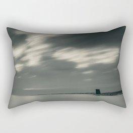 Lisbon in Black and White Rectangular Pillow