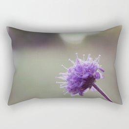 Vintage little purple flower Rectangular Pillow
