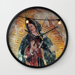 Mary  Wall Clock