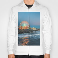 Wheel of Fortune - Santa Monica, California Hoody
