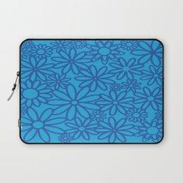 flores azules Laptop Sleeve
