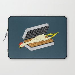 Rubber Chicken & Waffles Laptop Sleeve