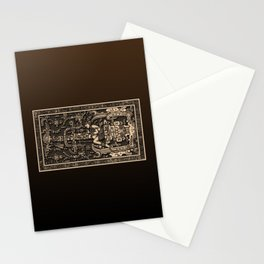 Sala Tumba de Pakal Stationery Cards