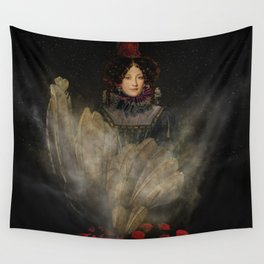 Emerging Beauty Wall Tapestry