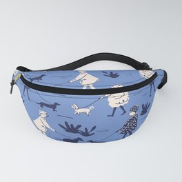 Walking the dogs Fanny Pack