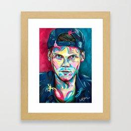 Let's wake YOU up Framed Art Print