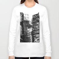 urban Long Sleeve T-shirts featuring Urban by Marian - Claudiu Bortan