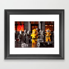 Outbreak Framed Art Print