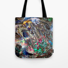 Angels and Earthworms Tote Bag
