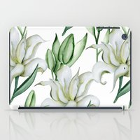 lily iPad Cases featuring Lily by Julia Badeeva