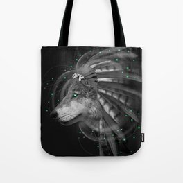 Don't Define the World (Chief of Dreams: Wolf) Tribe Series Tote Bag
