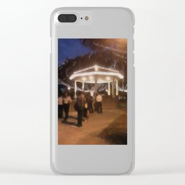 Wedding in the Pavilion Clear iPhone Case