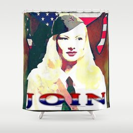 VERONICA LAKE - 065 Shower Curtain