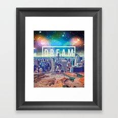dreamcity3 Framed Art Print