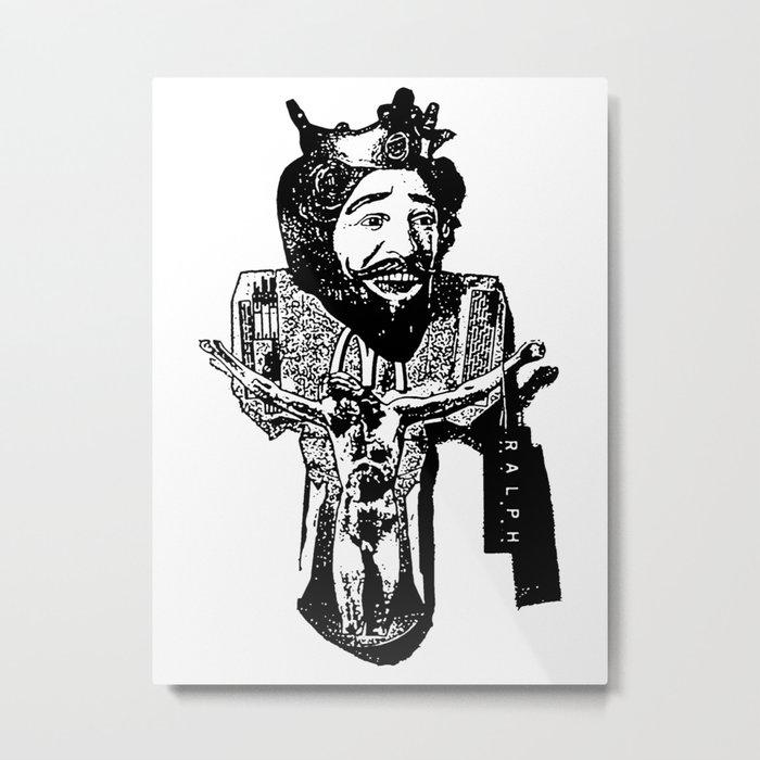 One Nation Under Burger King Metal Print