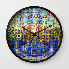 Conversation laced with lyrics while traversing... Wall Clock