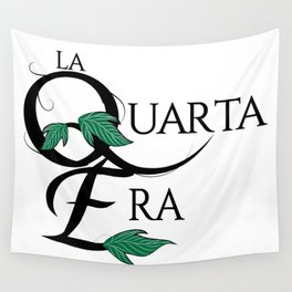 LaQuartaEra_White Wall Tapestry