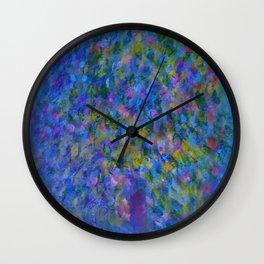 willow blues Wall Clock