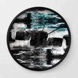 Turning Reefs Wall Clock