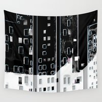 street Wall Tapestries featuring Street by Lynsey Ledray