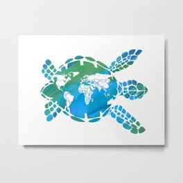 Mother Earth II Metal Print