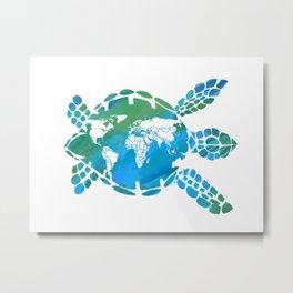 Mother Earth II Metal Print