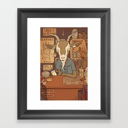 Phil's Curiosity Shop Framed Art Print