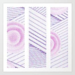 1 - Series `Rounds&Stripes` Art Print